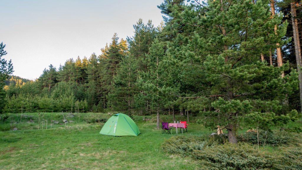 Şahinler Tabiat Parkı kamp