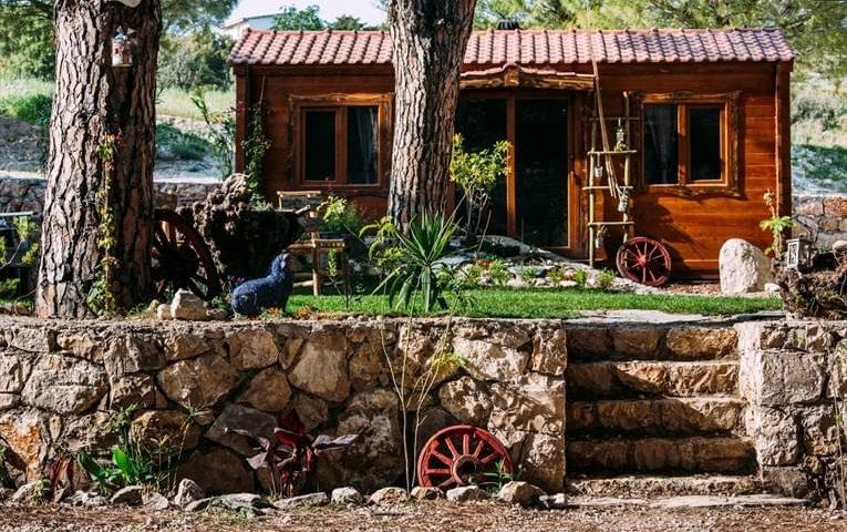 Morkoyun Bungalov ve Çadır Kamp Genel Görünüm