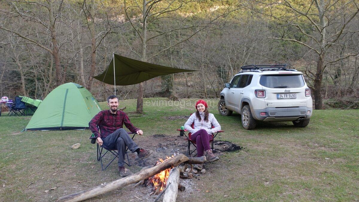 Hacıllı Köyü Kamp Ateşi
