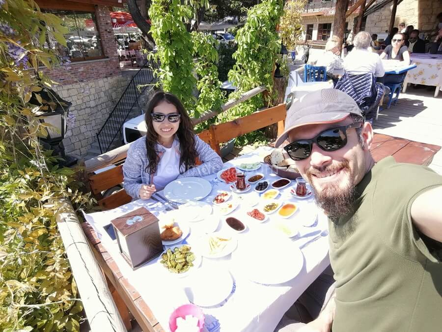 Yeşilyurt Köyü kazdağları kahvaltı