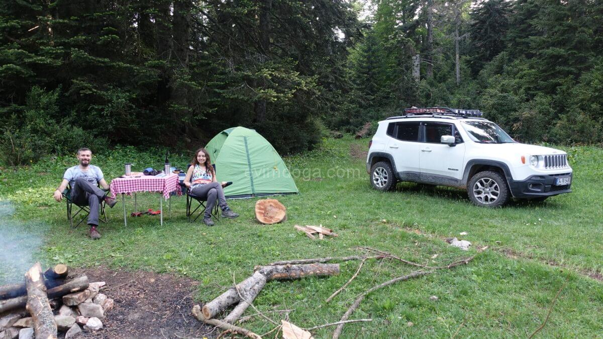 Çiğdem yaylası kamp yeri