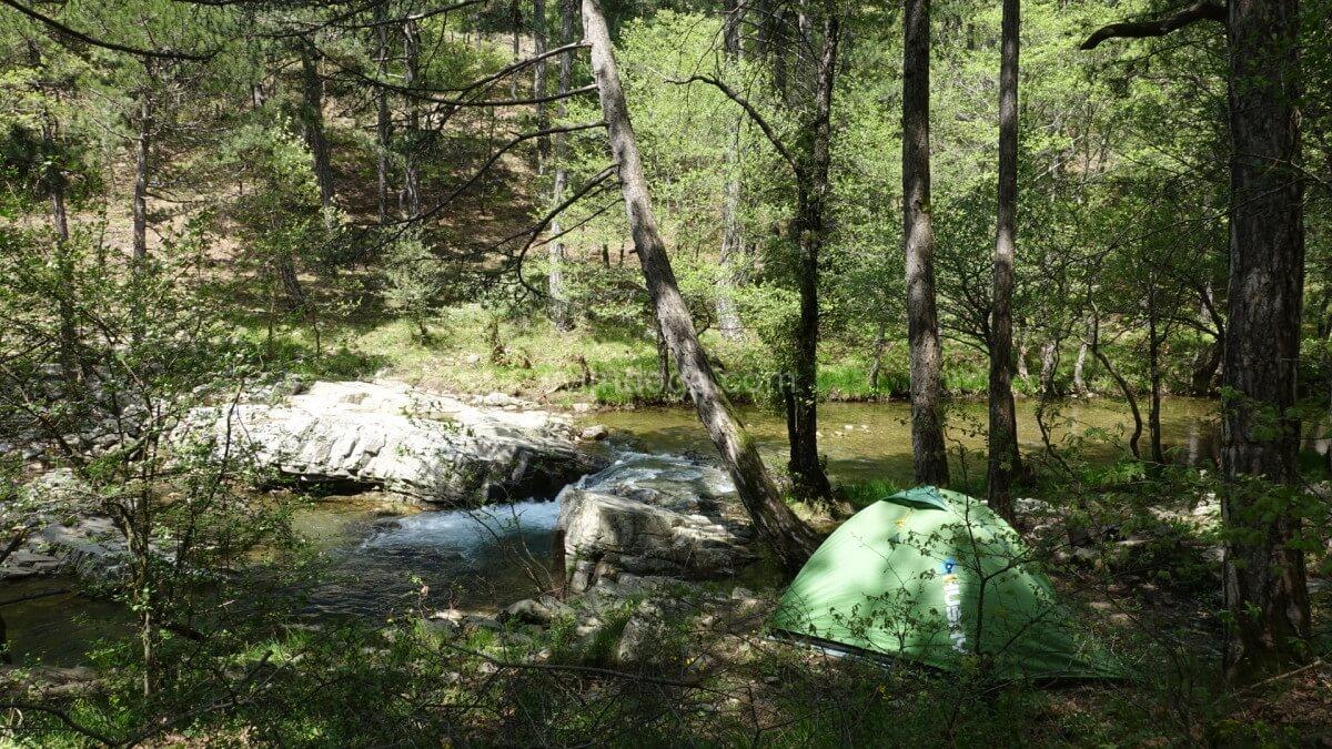 DarıDere Kamp Yerimiz kazdağları kamp