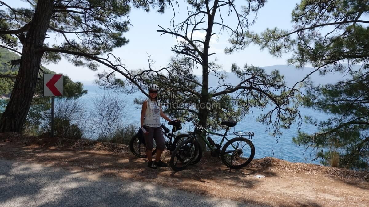 gökova bisiklet turu
